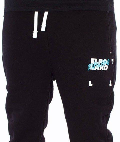El Polako-Elpo BLM Fit Spodnie Dresowe Czarne