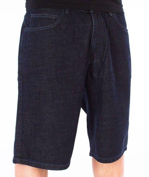 El Polako-Elpolako BLM Spodnie Krótkie Jeans Dark Blue