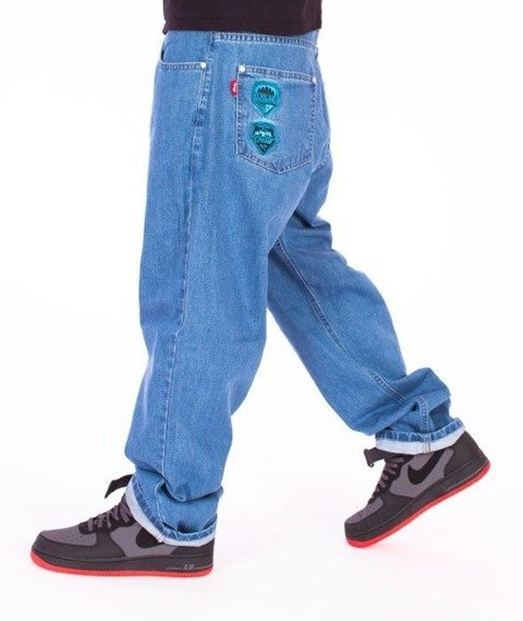 El Polako-Gorilla Baggy Jeans Light Blue