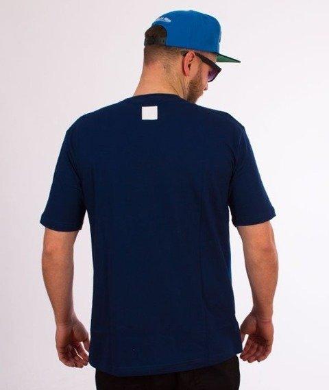 El Polako-Gradient T-Shirt Niebieski
