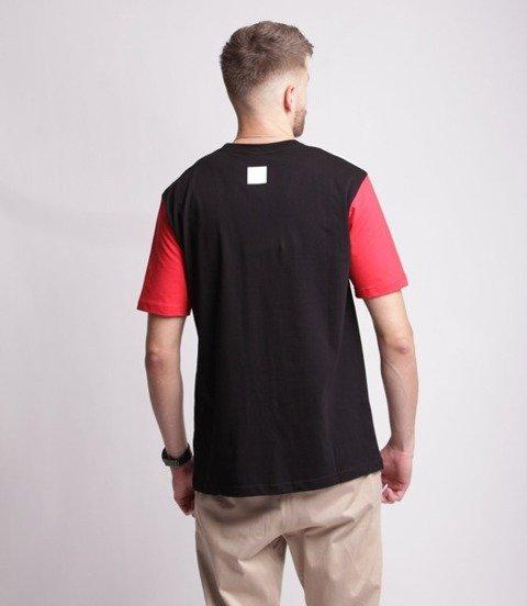 El Polako HALF CLASSIC T-Shirt Czarny/Czerwony