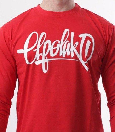 El Polako-HandMade Longsleeve Czerwony