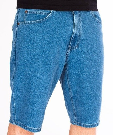 El Polako-Handwritten Szorty Jeans Light Blue