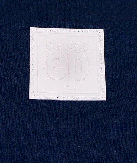 El Polako-Handwritten T-Shirt Granatowy