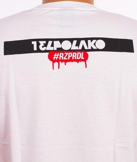 El Polako-Hello My Name Is T-Shirt Biały
