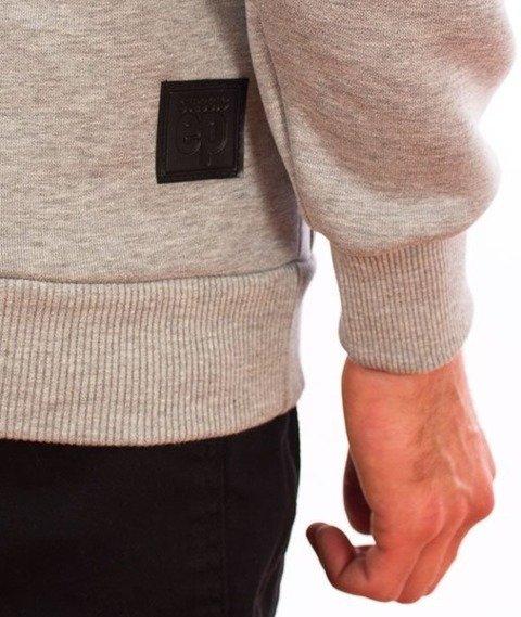 El Polako-Kangurka Box Style Bluza Kaptur Szary
