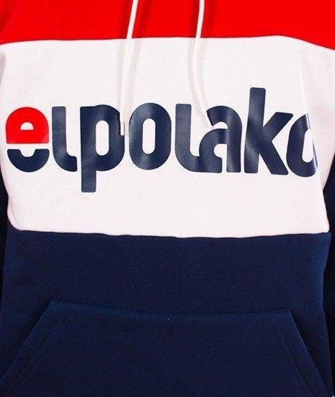 El Polako-Kangurka Elpo New Bluza Kaptur Granat