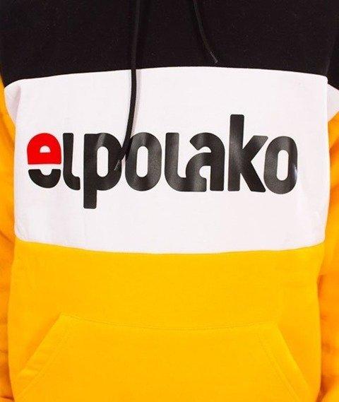 El Polako-Kangurka Elpo New Bluza Kaptur Żółty