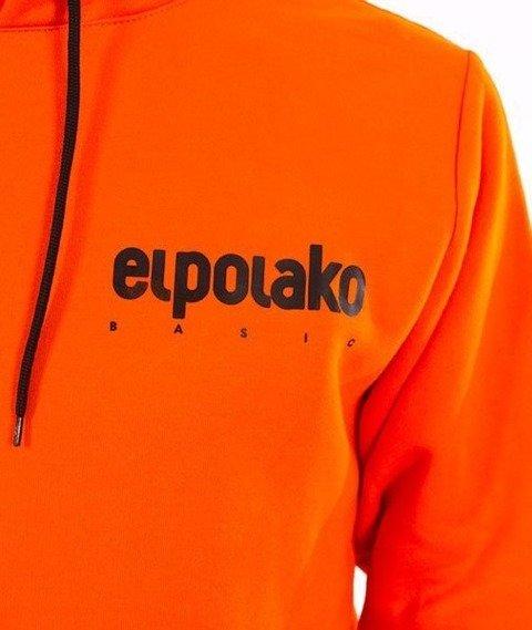 El Polako-Kangurka Little Classic Bluza Kaptur Pomarańcz