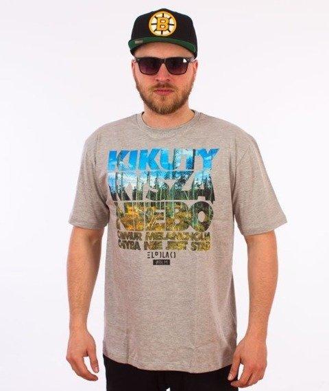 El Polako-Kikuty T-Shirt Szary