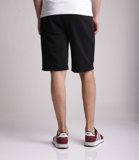 El Polako-LOGOBOX Spodnie Krótkie Dresowe Czarne