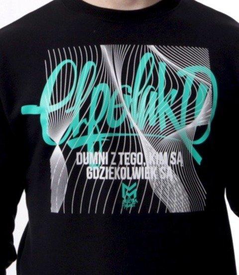 El Polako-Lines Handmade Bluza Czarny