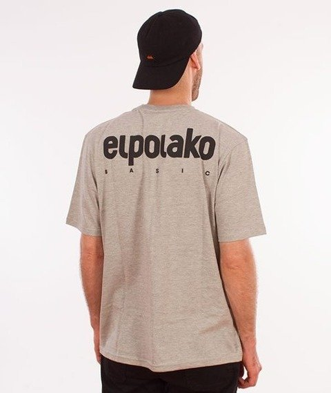 El Polako-Little Classic T-Shirt Szary