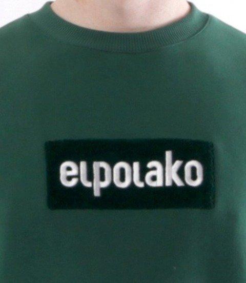 El Polako-Logobox Bluza Ciemna Zieleń