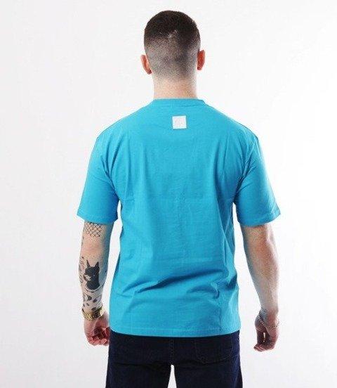 El Polako-Logobox T-Shirt Błękitny