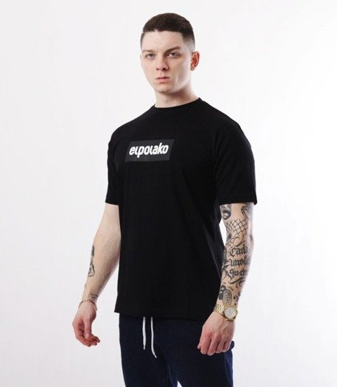 El Polako-Logobox T-Shirt Czarny