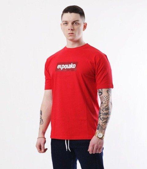 El Polako-Logobox T-Shirt Czerwony