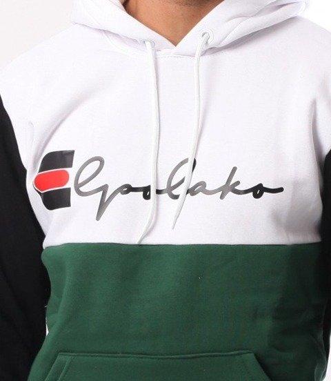 El Polako-Mistrz NERKA GRATIS Bluza Kaptur Zielony Czarny