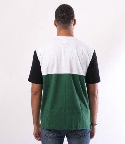El Polako-Mistrz T-Shirt Zielony/Czarny rękaw