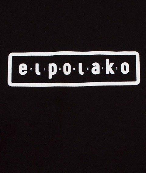 El Polako-Mountain T-Shirt Czarny