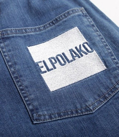 El Polako-New Box Jogger Slim z Gumą Spodnie Light