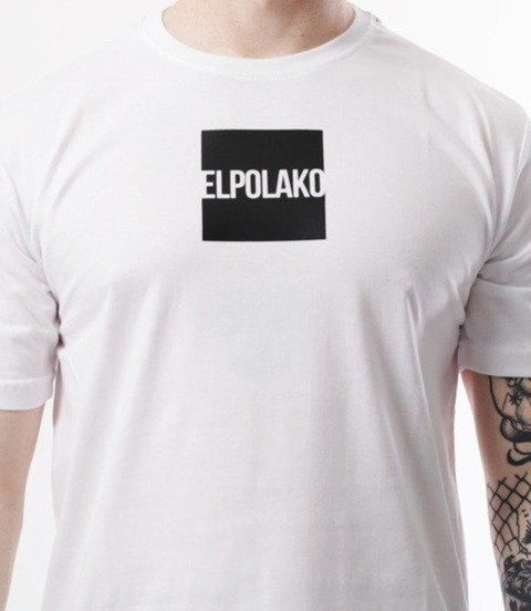 El Polako-New Box T-Shirt Biały