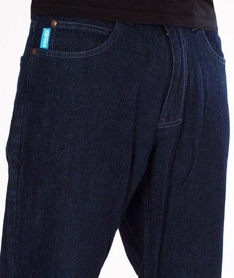 El Polako-Outline Regular Jeans Spodnie Dark