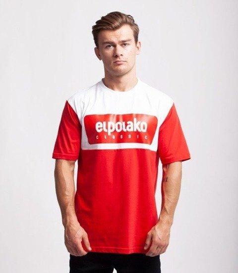 El Polako PLATE T-Shirt Czerwony