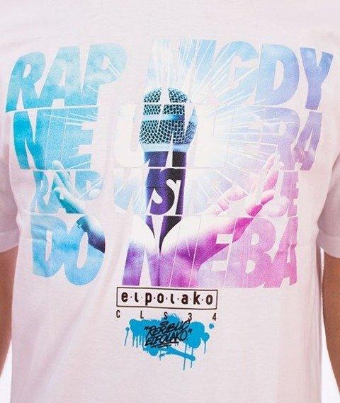 El Polako-Rap Nie Umiera T-Shirt Biały