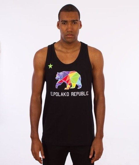 El Polako-Republic Tank-Top Czarny