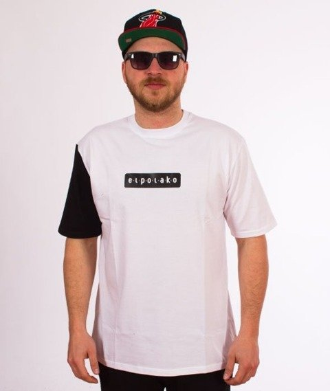El Polako-Sleeve T-Shirt Biały