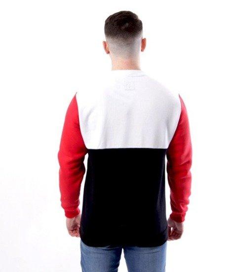 El Polako-Square Cut Bluza Czarny/Czerwony
