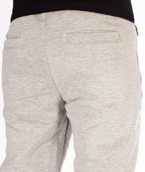 El Polako-Tag Regular Spodnie Dresowe Szare