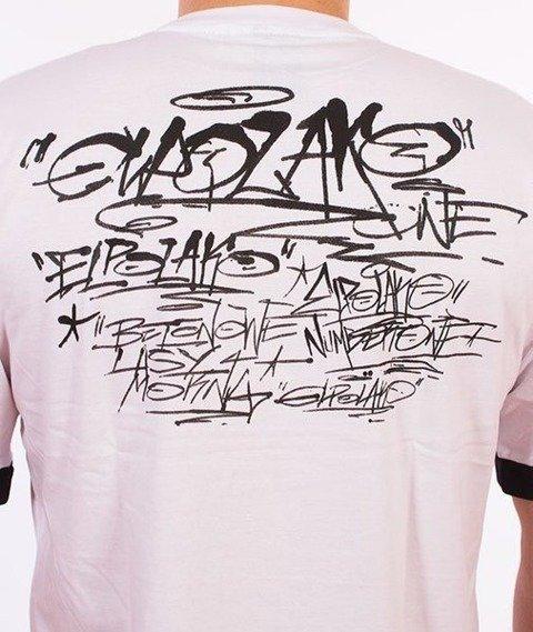 El Polako-Tags BLM T-Shirt Biały