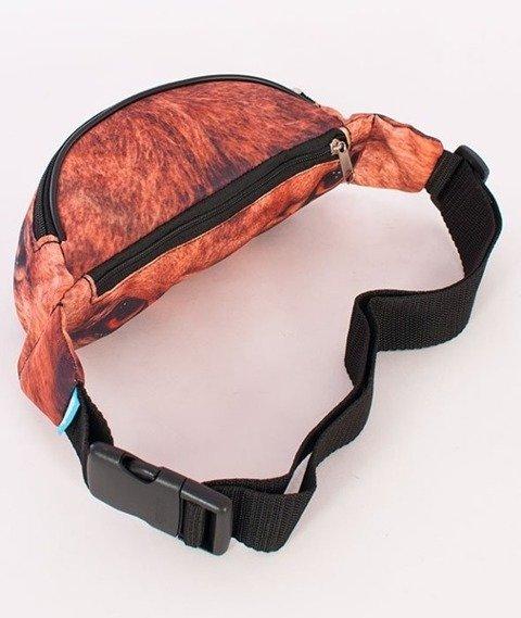 El Polako-Wild Eyes Lion Street  Bag Multikolor