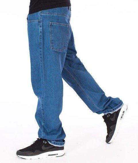 El Polako-Written Slim Jeans Spodnie Light Blue