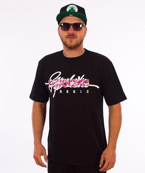 El Polako-Written T-Shirt Czarny