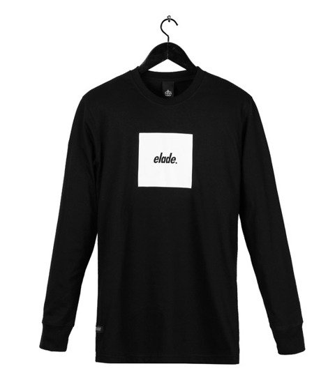 Elade-Box Logo Longsleeve Black