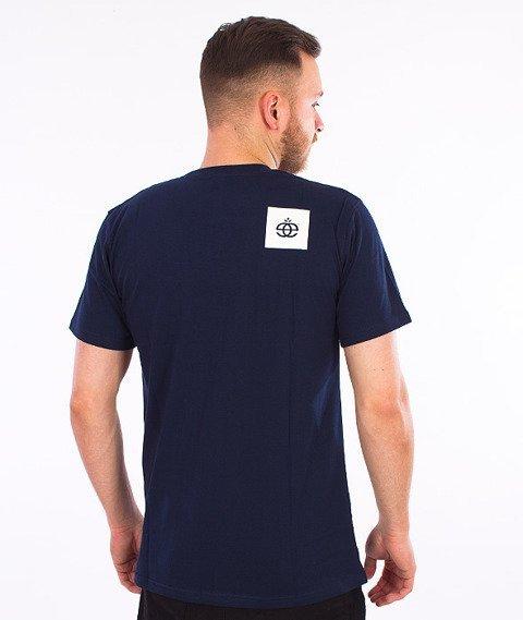 Elade-Box T-Shirt Granatowy