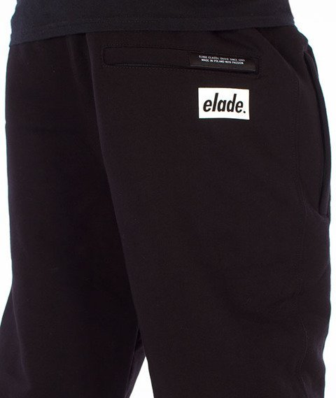 Elade-Classic Sweatpants Spodnie Dresowe Czarne
