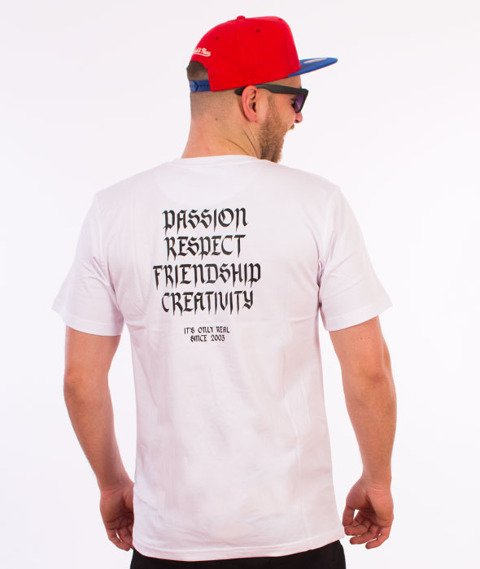 Elade-Our Theory T-Shirt Biały