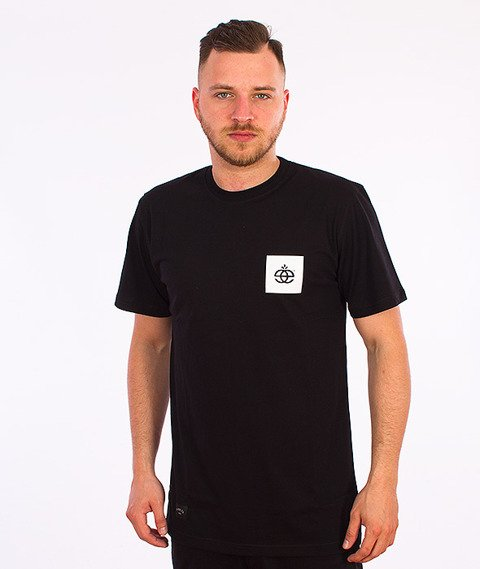 Elade-Script T-Shirt Czarny