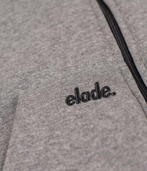 Elade Zip Hoodie Classic Bluza Rozpinana Szara
