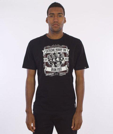 Extreme Hobby-Iron Fist T-shirt Czarny