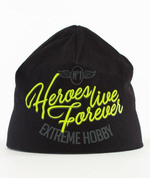 Extreme Hobby-NBR ONE Czapka Zimowa Czarna