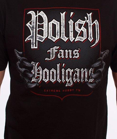 Extreme Hobby-Polish Fans T-shirt Czarny