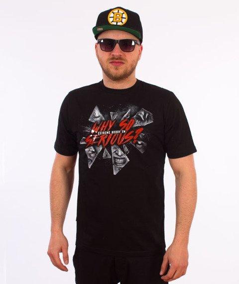 Extreme Hobby-Why So Serious? T-shirt Czarny