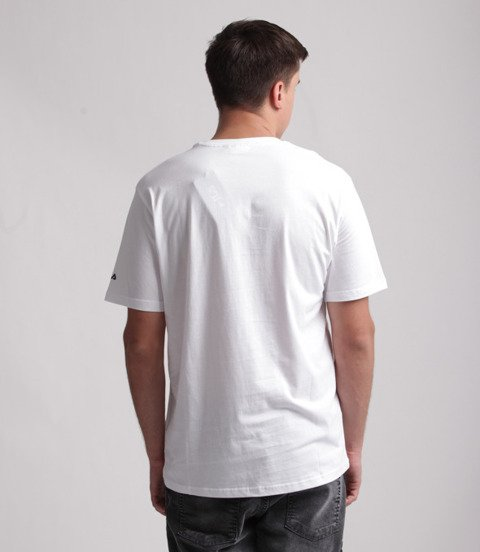 FILA-Classic Logo T-shirt Biały