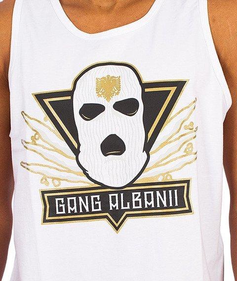 Gang Albanii-Big Kogz Tank-Top Biały