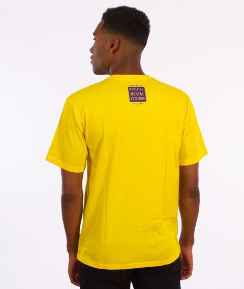 Ganja Mafia-Summer T-Shirt Żółty